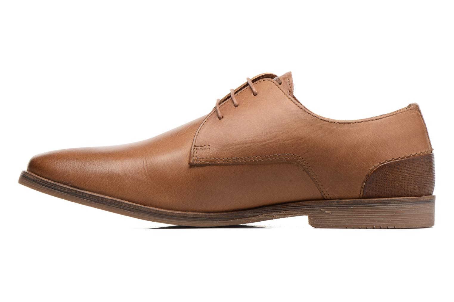 Lace-up shoes Redskins Lanior 2 Brown front view