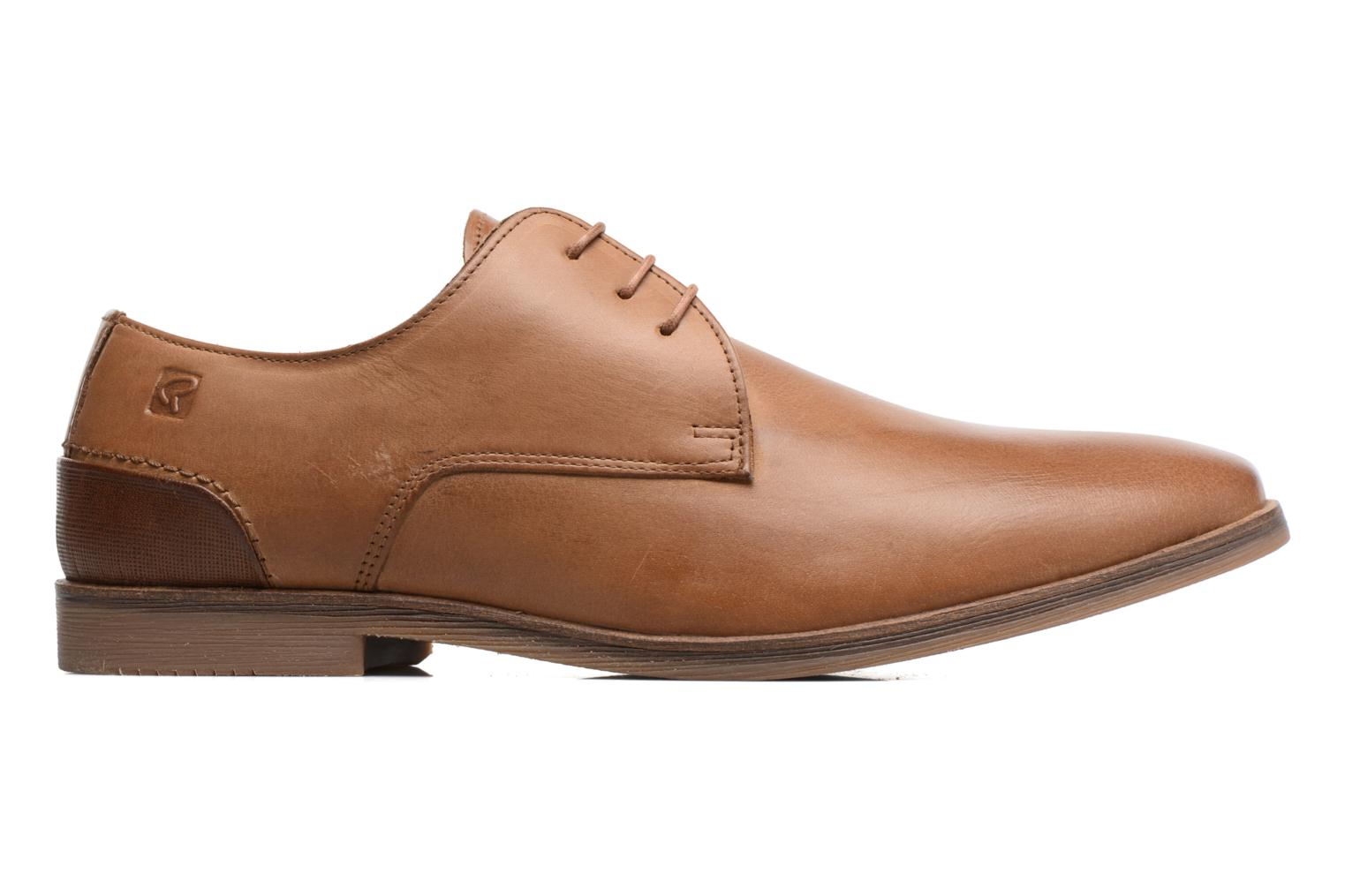 Lace-up shoes Redskins Lanior 2 Brown back view