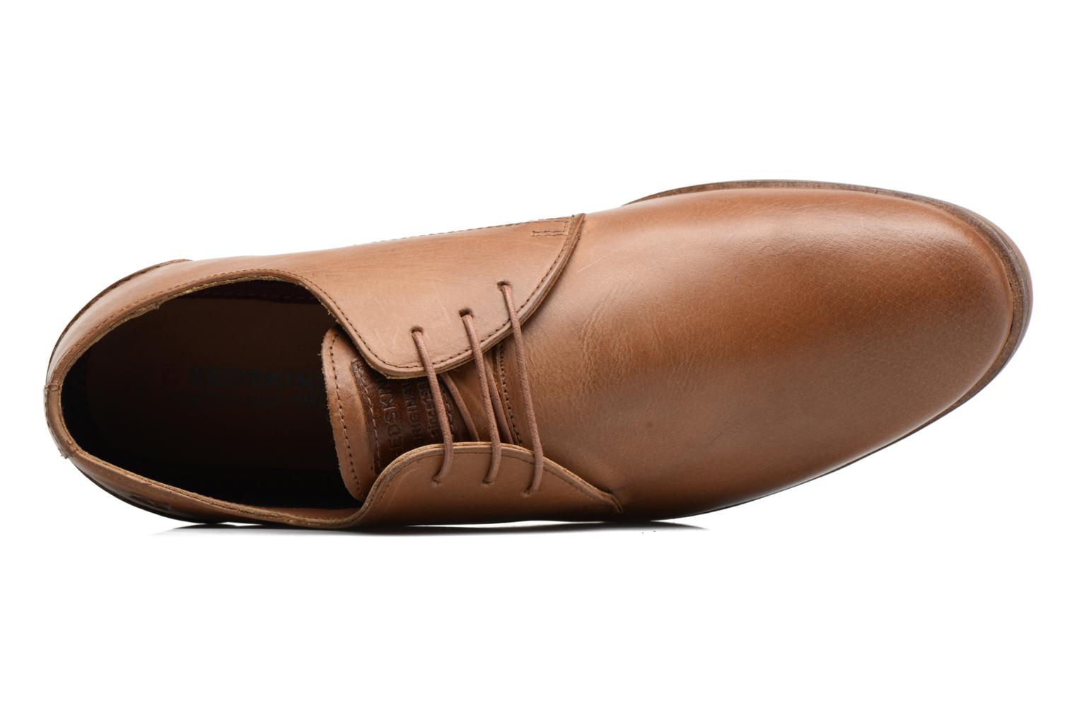 Lace-up shoes Redskins Lanior 2 Brown view from the left