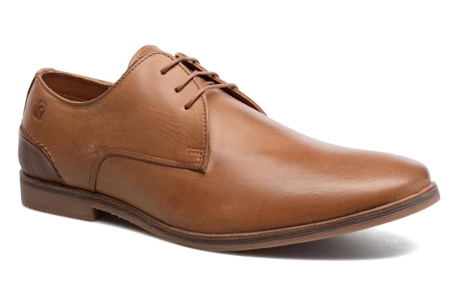 Lace-up shoes Redskins Lanior 2 Brown detailed view/ Pair view