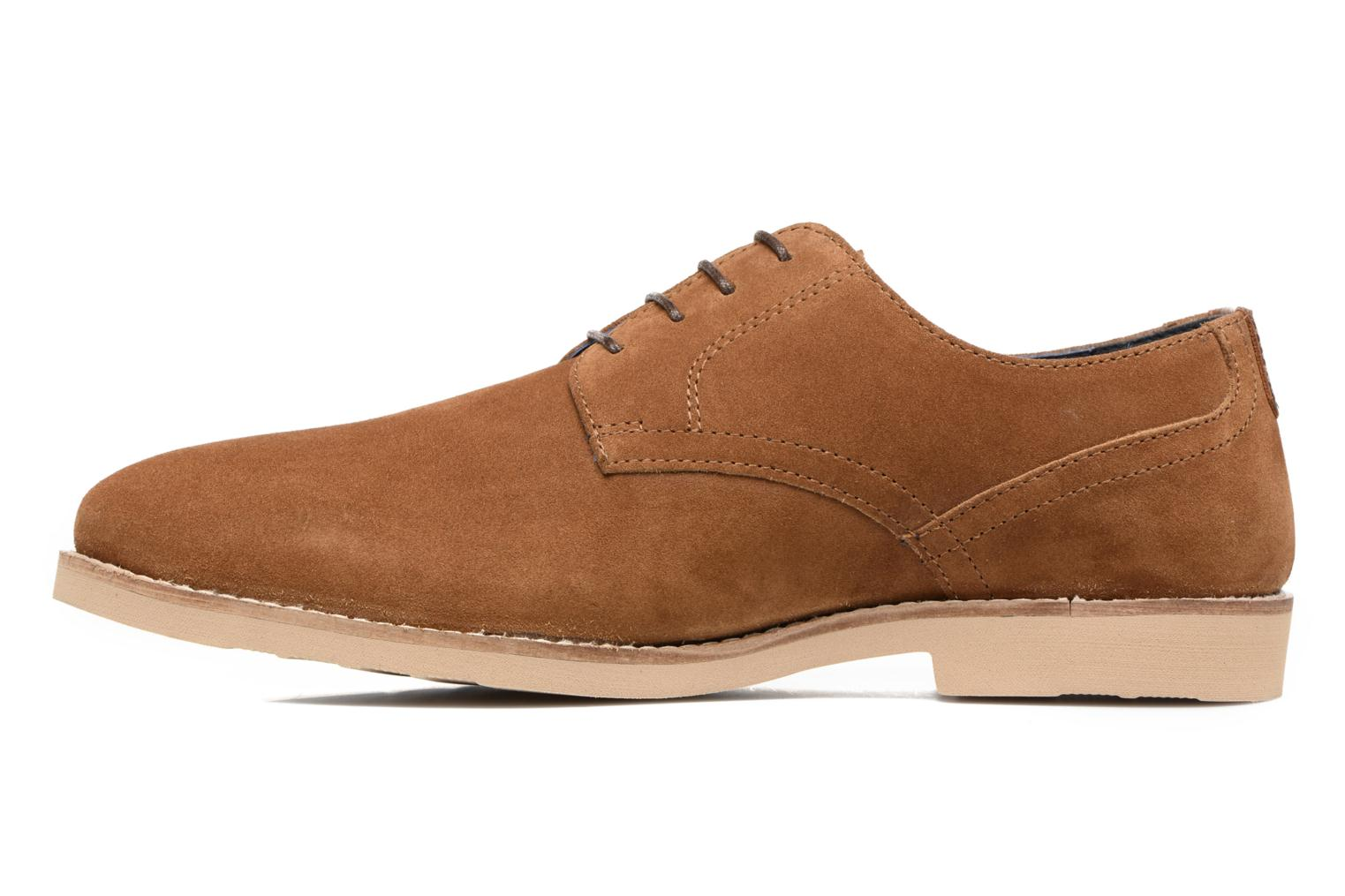 Chaussures à lacets Redskins Feodal Beige vue face