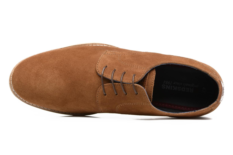 Chaussures à lacets Redskins Feodal Beige vue gauche