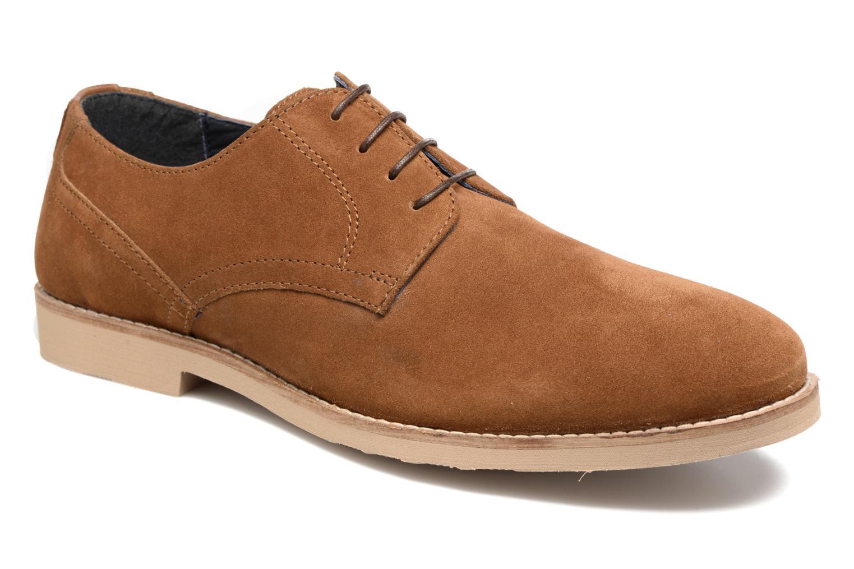 Chaussures à lacets Redskins Feodal Beige vue détail/paire