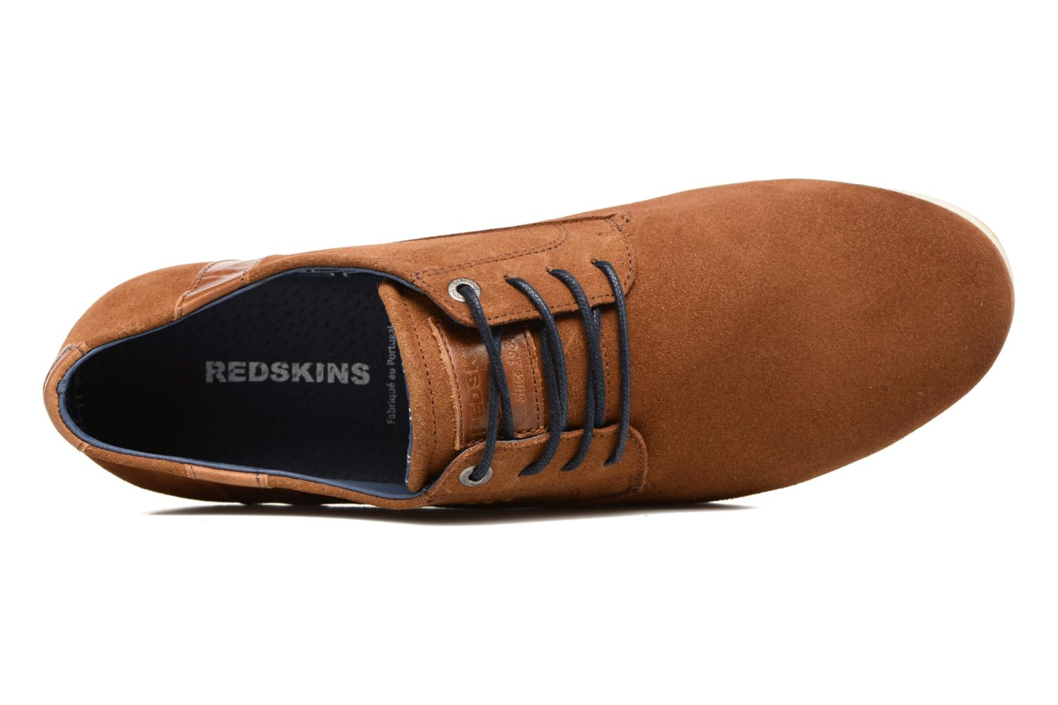 Baskets Redskins Wadden Marron vue gauche