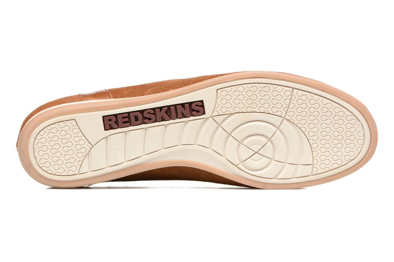 Baskets Redskins Wadden Marron vue haut