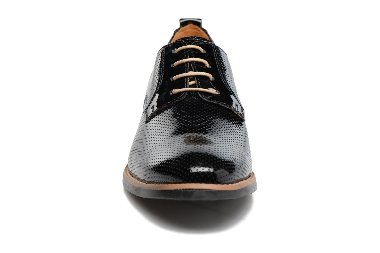 Chaussures à lacets Georgia Rose Nitrou Noir vue portées chaussures