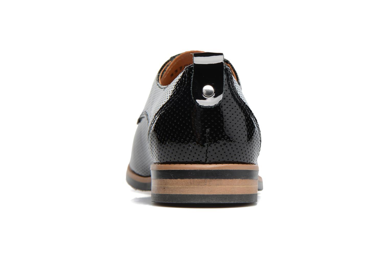 Chaussures à lacets Georgia Rose Nitrou Noir vue droite
