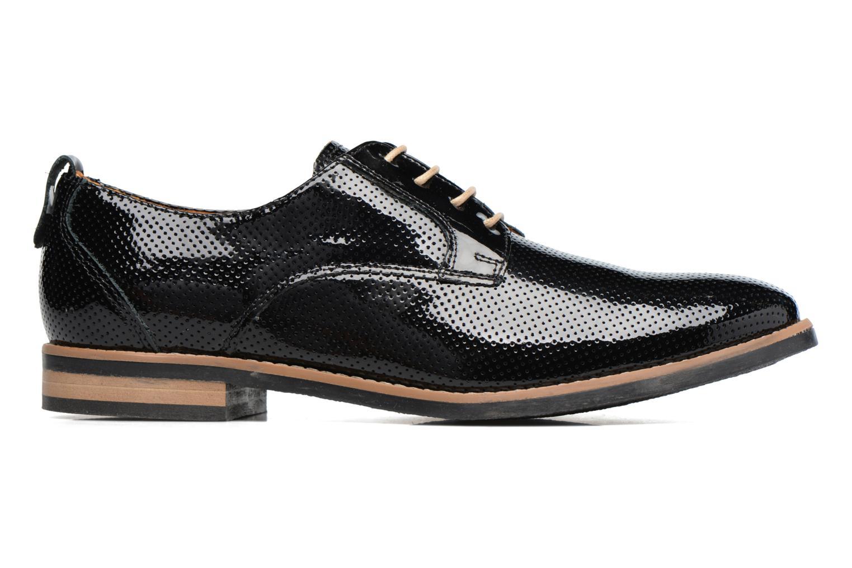 Chaussures à lacets Georgia Rose Nitrou Noir vue derrière