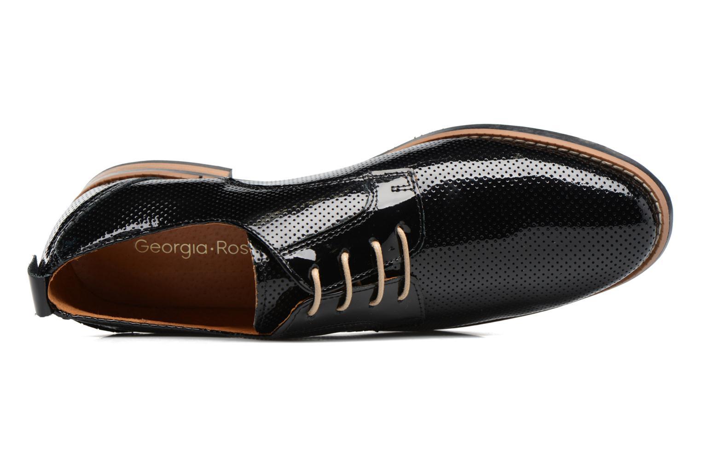 Chaussures à lacets Georgia Rose Nitrou Noir vue gauche