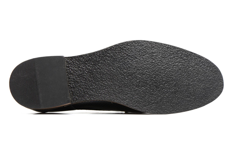 Chaussures à lacets Georgia Rose Nitrou Noir vue haut
