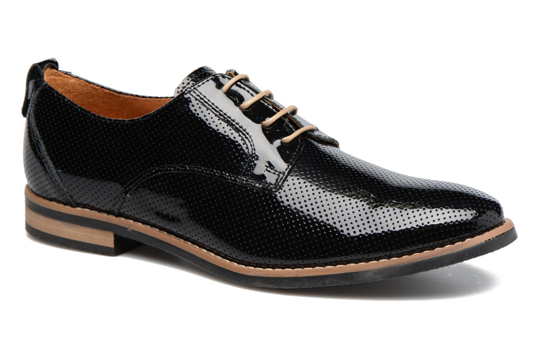 Chaussures à lacets Georgia Rose Nitrou Noir vue détail/paire