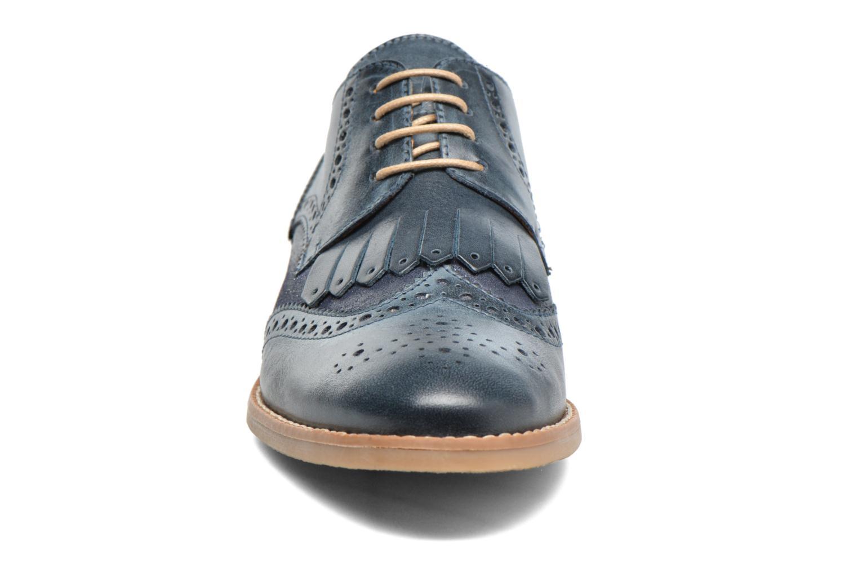 Chaussures à lacets Georgia Rose Nibule Bleu vue portées chaussures