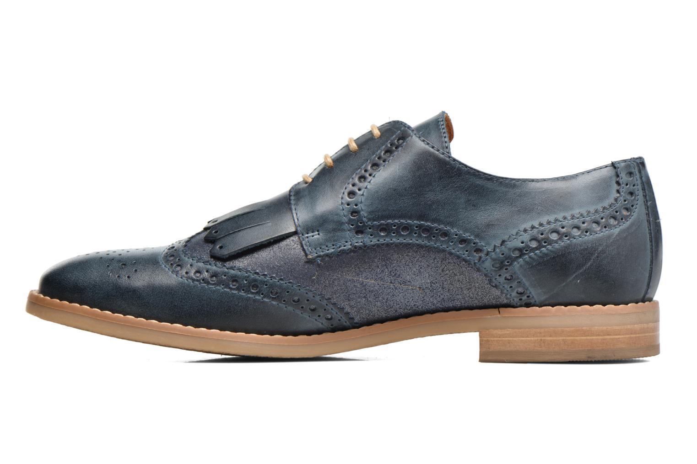 Chaussures à lacets Georgia Rose Nibule Bleu vue face
