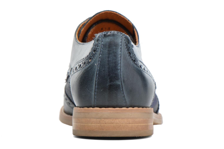 Chaussures à lacets Georgia Rose Nibule Bleu vue droite