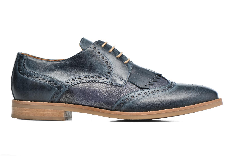 Chaussures à lacets Georgia Rose Nibule Bleu vue derrière