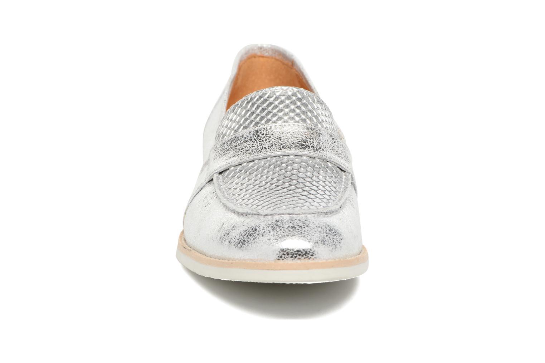Loafers Georgia Rose Ninarck Silver model view