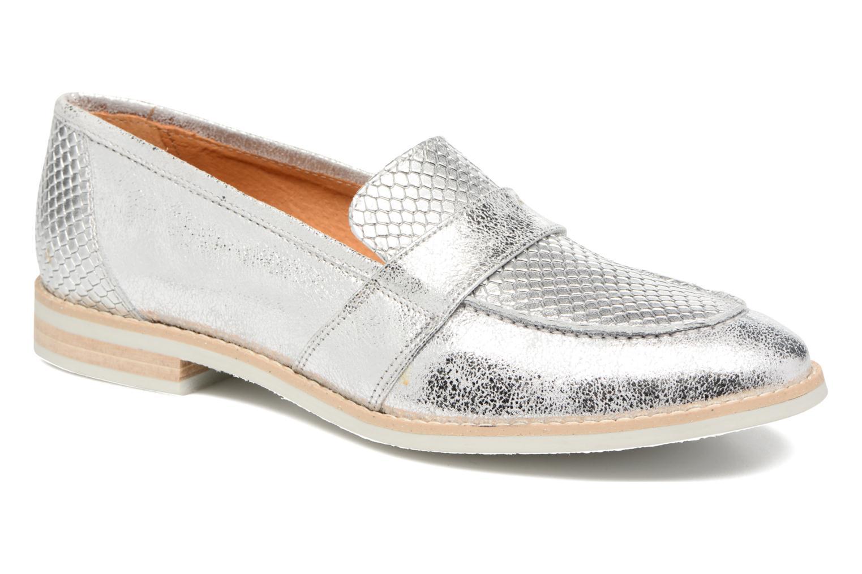 Loafers Georgia Rose Ninarck Sølv detaljeret billede af skoene