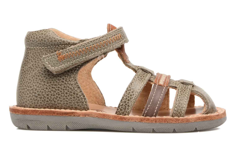 Sandales et nu-pieds Minibel Matchy Marron vue derrière
