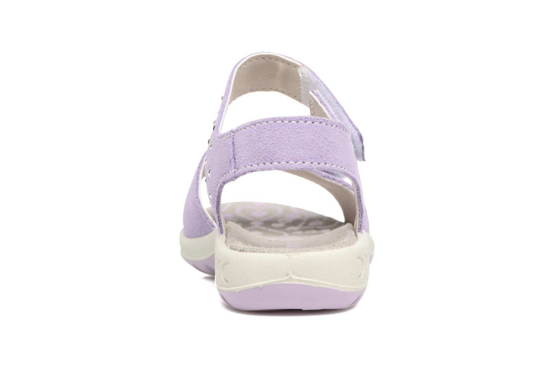 Sandales et nu-pieds Lurchi by Salamander Ferry Violet vue droite