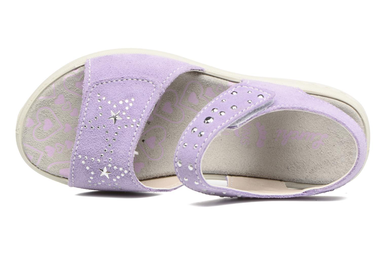 Sandales et nu-pieds Lurchi by Salamander Ferry Violet vue gauche