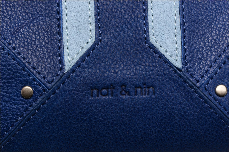 Sacs à main Nat & Nin Napoli Bleu vue gauche
