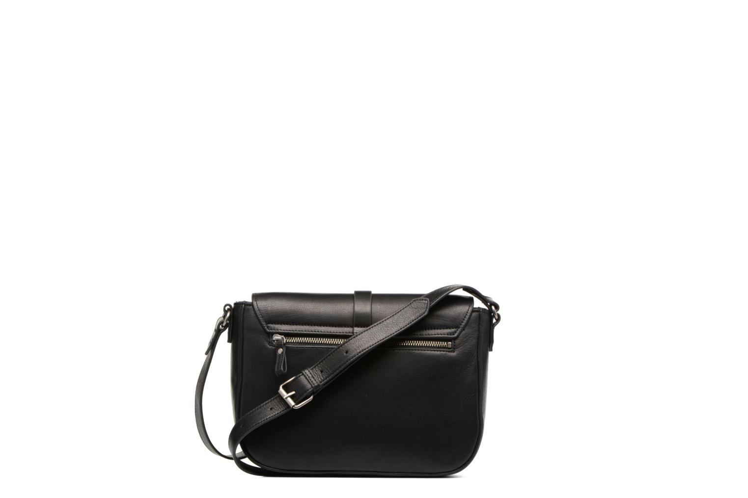 Clutch bags Nat & Nin Paola Black front view