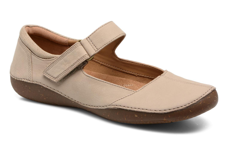 modelo más vendido de la marca Clarks Autumn Stone (Beige) - Bailarinas en Más cómodo