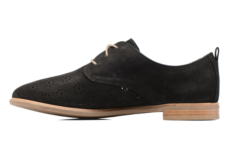 Chaussures à lacets Clarks Alania Posey Noir vue face