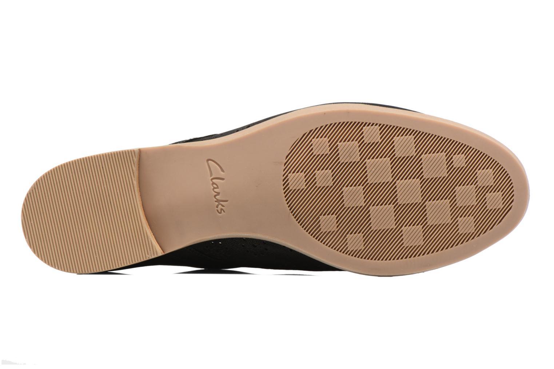Chaussures à lacets Clarks Alania Posey Noir vue haut