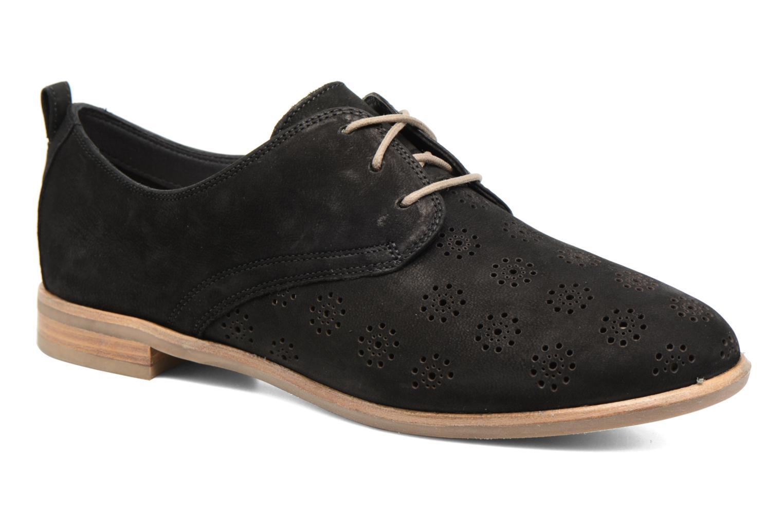 Chaussures à lacets Clarks Alania Posey Noir vue détail/paire