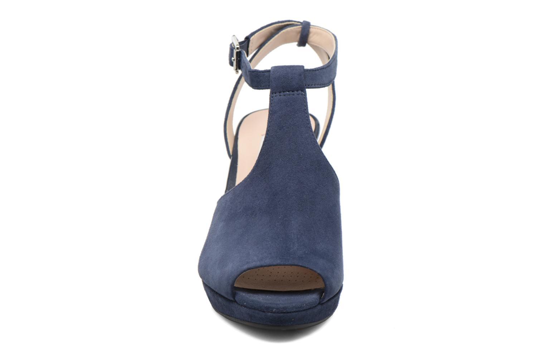 High heels Clarks Kendra Charm Blue model view