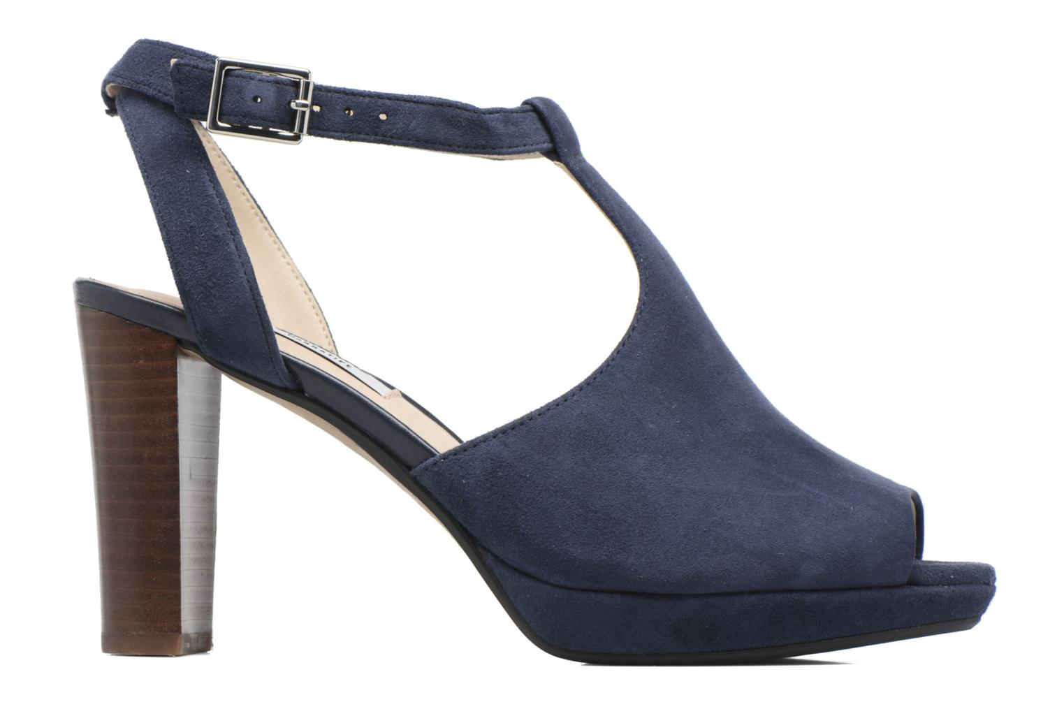 Kendra Charm Navy Suede