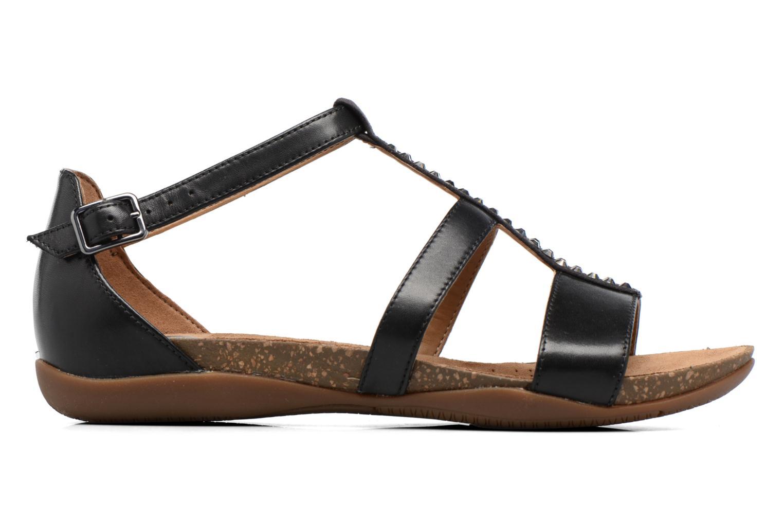 Sandales et nu-pieds Clarks Autumn Fresh Noir vue derrière