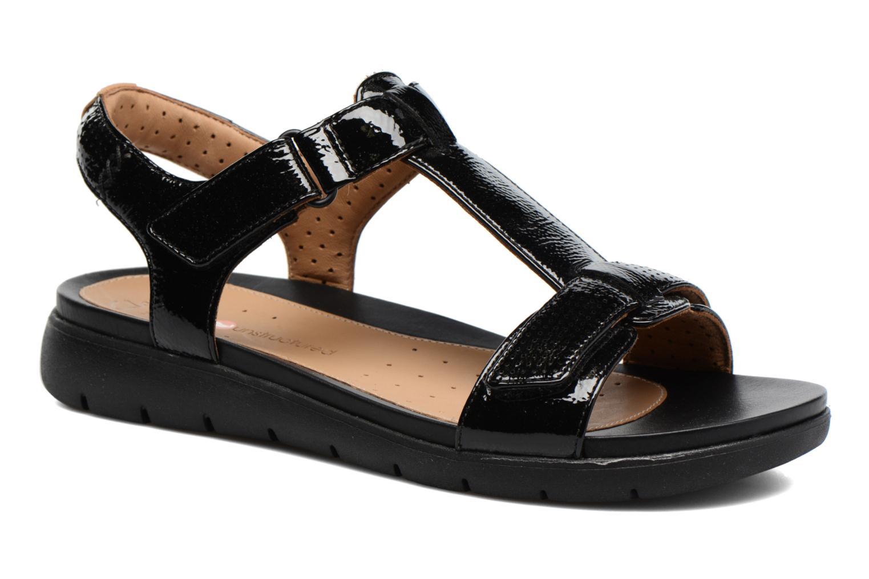 Zapatos promocionales Clarks Unstructured Un Haywood (Negro) - Sandalias   Zapatos de mujer baratos zapatos de mujer