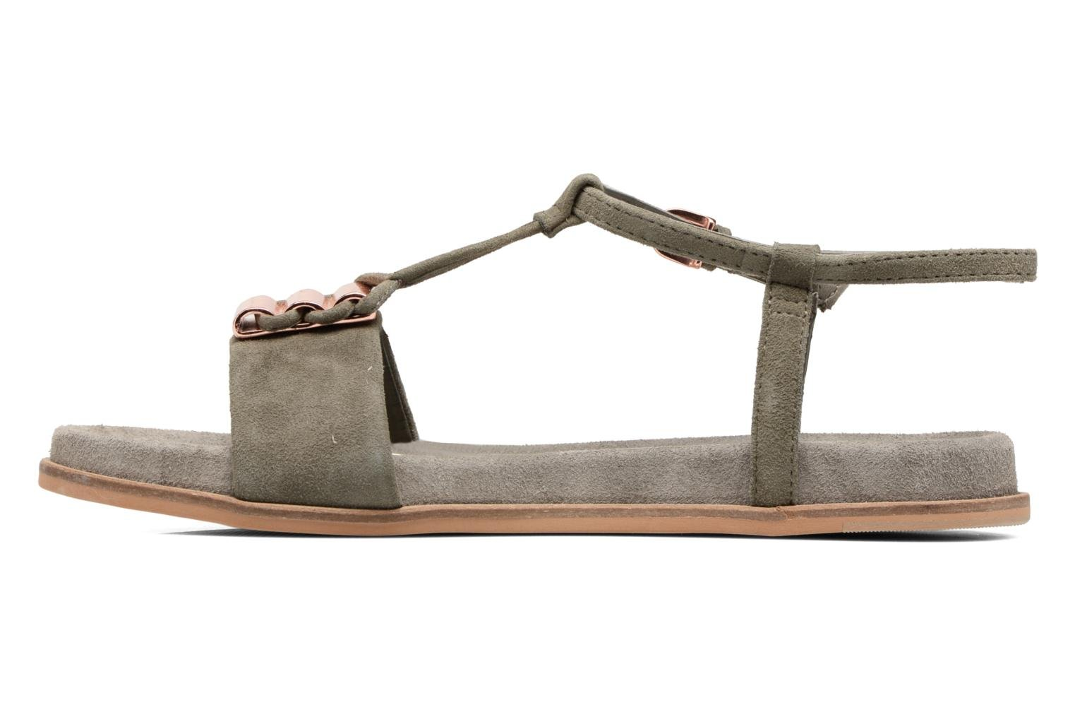 Sandals Clarks Agean Cool Grey front view