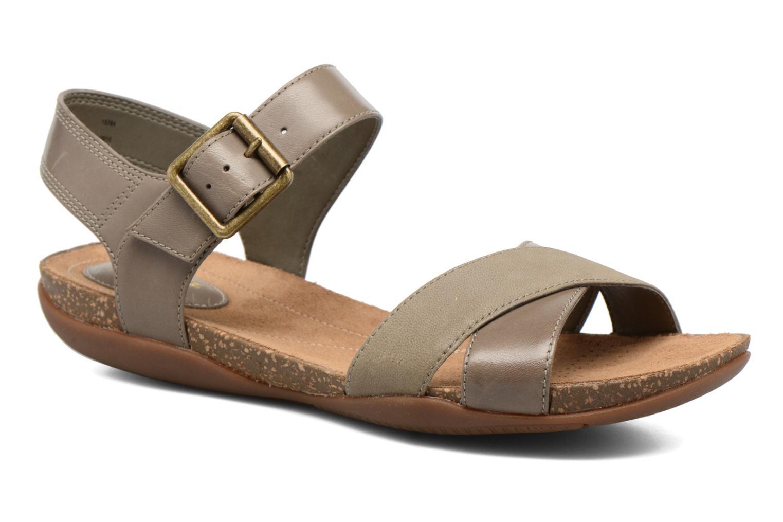 Sandaler Clarks Autumn Air Grå detaljeret billede af skoene