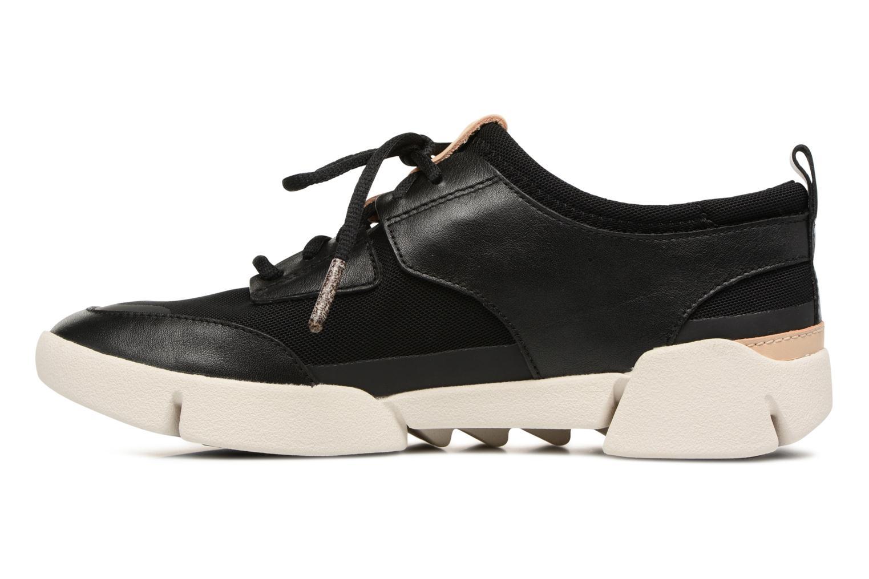 Sneakers Clarks Tri Soul Zwart voorkant