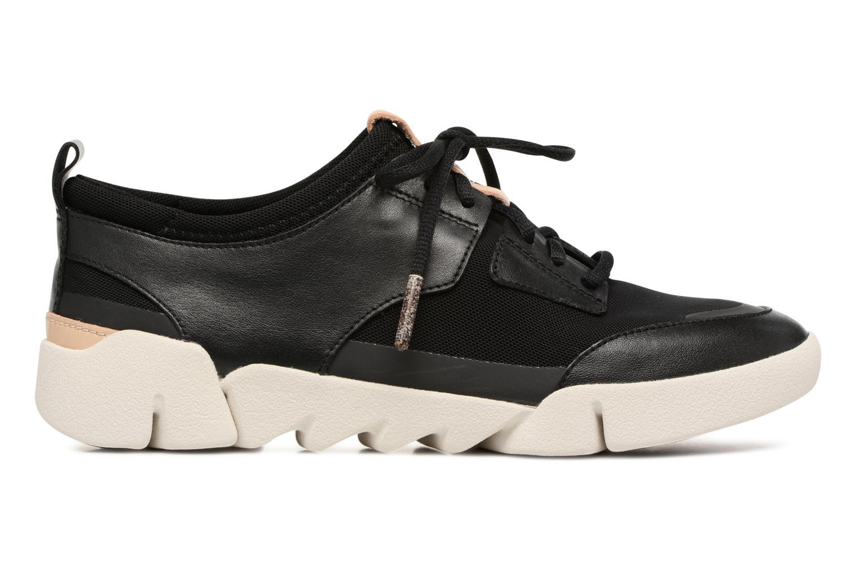 Sneakers Clarks Tri Soul Zwart achterkant