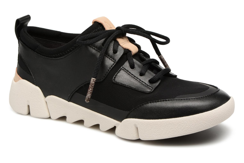 Sneakers Clarks Tri Soul Zwart detail