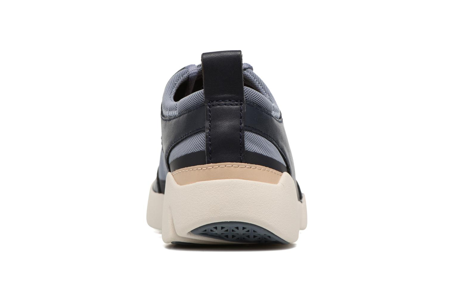 Trainers Clarks Tri Soul Blue view from the right