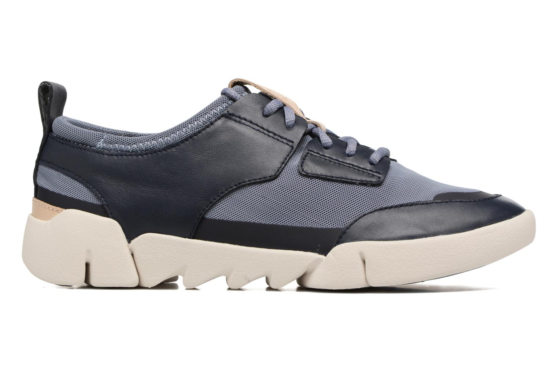 Sneaker Clarks Tri Soul blau ansicht von hinten