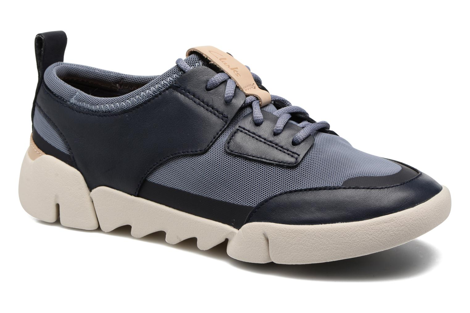 Trainers Clarks Tri Soul Blue detailed view/ Pair view