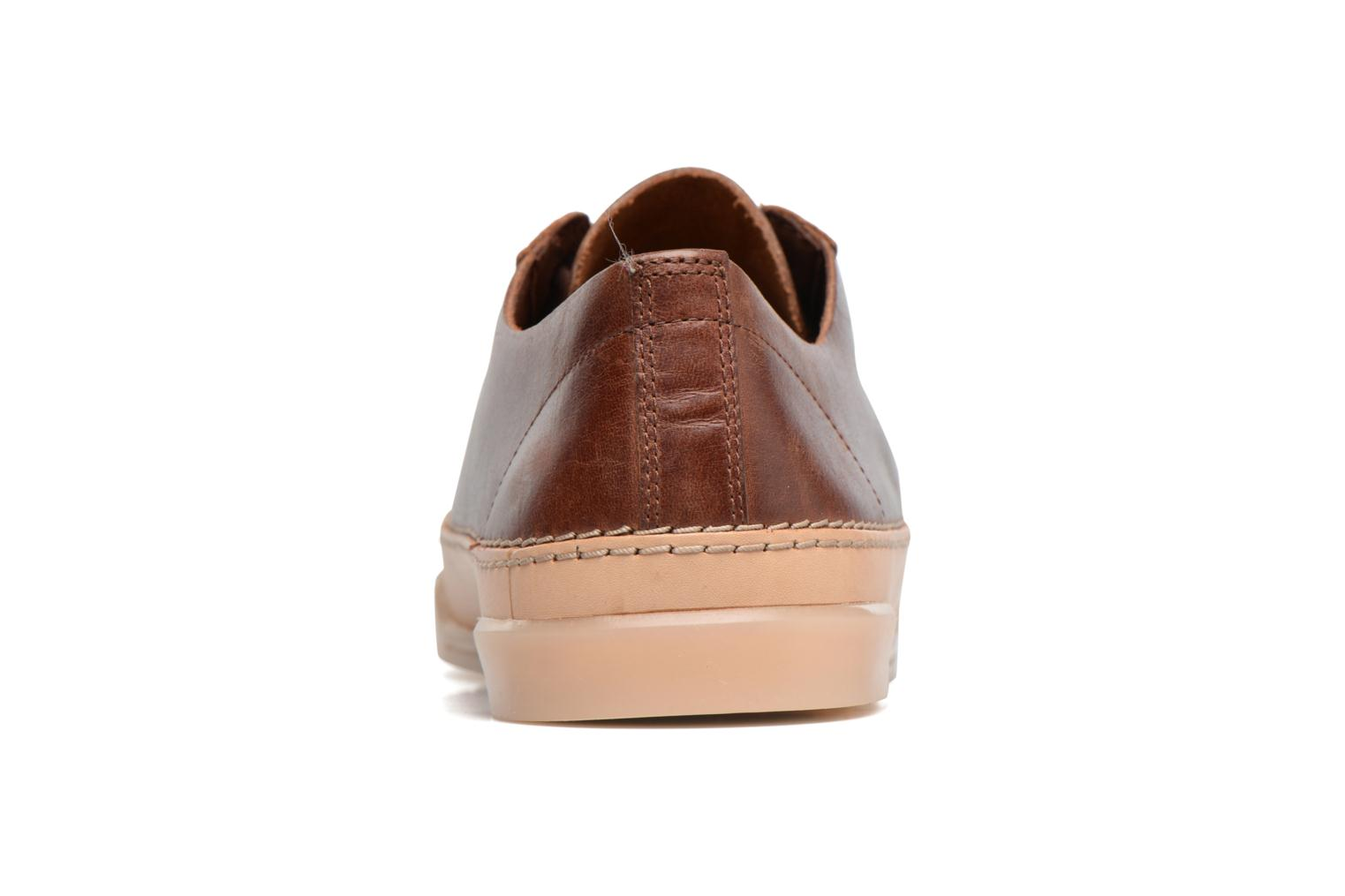 Baskets Clarks Hidi Holly Marron vue droite