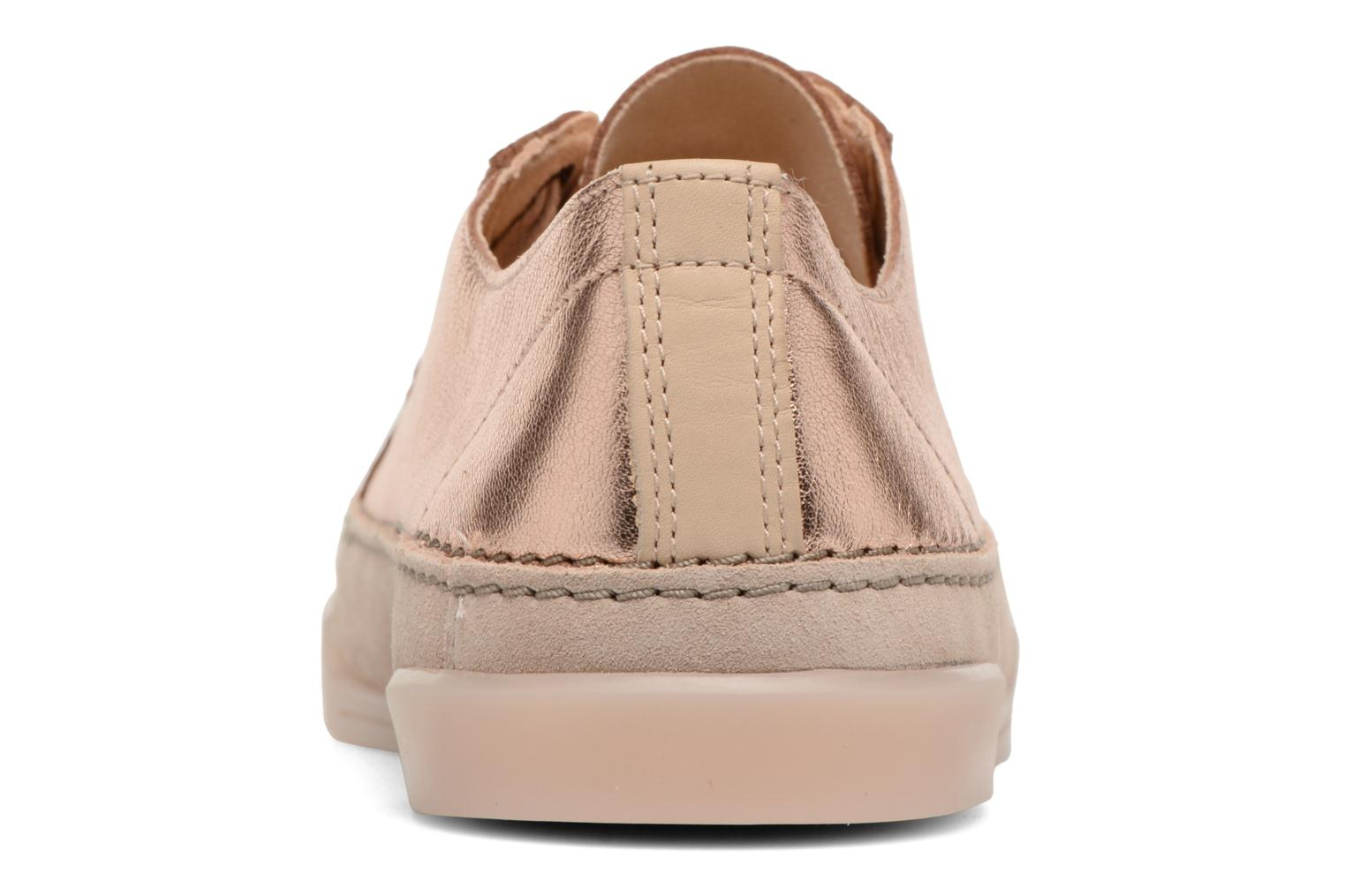 Trainers Clarks Hidi Holly Pink view from the right