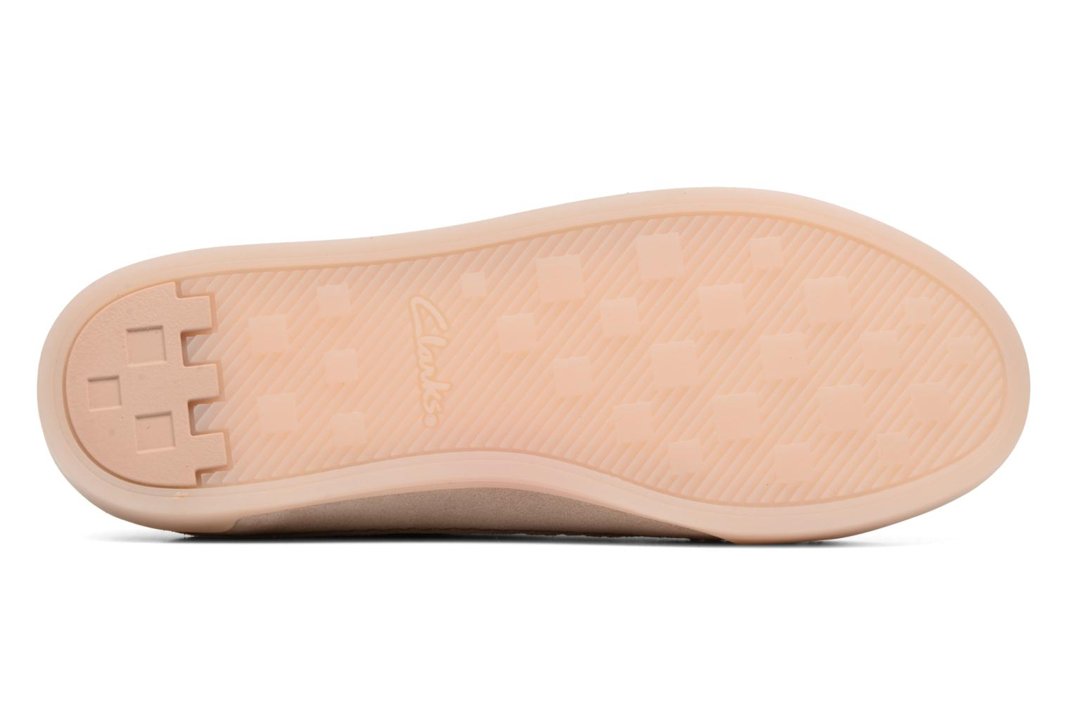 White leather Clarks Hidi Holly (Beige)