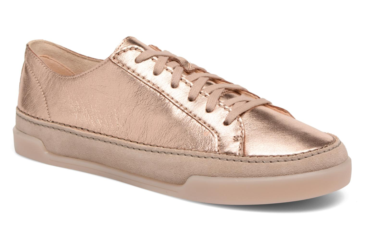 Trainers Clarks Hidi Holly Pink detailed view/ Pair view