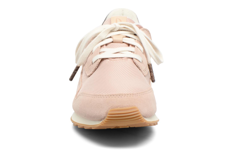 Baskets Clarks Floura Mix Rose vue portées chaussures