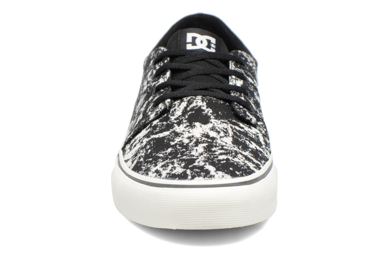 Baskets DC Shoes Trase Tx Le M Noir vue portées chaussures