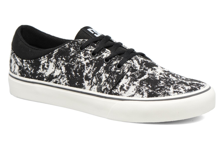 Sneakers DC Shoes Trase Tx Le M Zwart detail