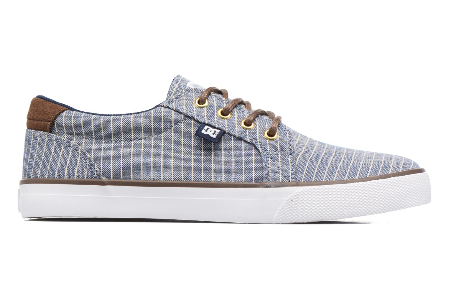 Baskets DC Shoes Council Tx Le M Bleu vue derrière